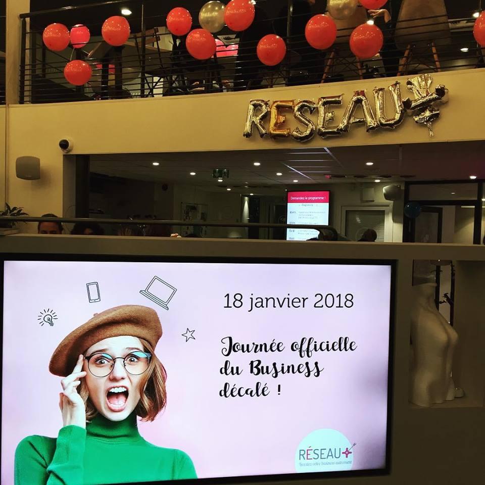 Conférence Réseau Plus (Réseau professionnel 100% féminin)